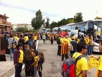 Via Catalana - Fotos dels lectors Taradell a les 10 del matí - 15 Autocars per un poble de 6000 habitants