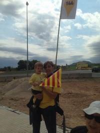 Via Catalana - Fotos dels lectors En Ferriol ben acompanyat. Hospitalet de l'Infant.