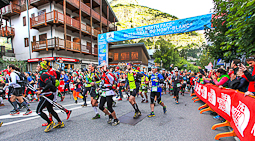 Ultratrail del Mont Blanc-Chamonix 2014 Sortida CCC des de Courmayeur. Foto: © The North Face® Ultra-Trail du Mont-Blanc® - Michel Cottin