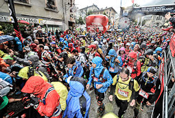 Ultratrail del Mont Blanc-Chamonix 2014 Sortida de l'UTMB. Foto: © The North Face® Ultra-Trail du Mont-Blanc®-Michel Cottin