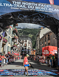 Ultratrail del Mont Blanc-Chamonix 2014 Rory Bosio, guanyadora UTMB 2014. Foto: © The North Face® Ultra-Trail du Mont-Blanc® - Michel Cottin