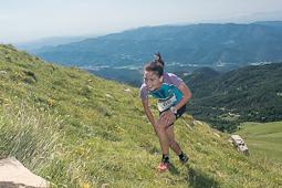 El 2014 a Nació Muntanya, en imatges Leire Fernández, guanyadora de la Vall de Ribes Xtrem Series (Ripollès). Foto: Josep Maria Montaner