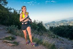 El 2014 a Nació Muntanya, en imatges Laia Andreu, guanyadora de la Primera Marató de Muntanya de Catalunya (Vallès Occidental). Foto: Foto: Josep Maria Montaner