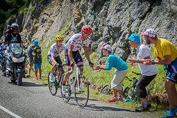 Muntanyes i gent del Tour de França