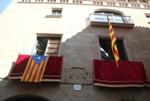 Imatges de la Diada 2012 a l'Ajuntament de Solsona