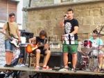 Audició musical al carrer de l'alumnat de l'Àtic