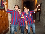 Celebració 4a Champions del Barça