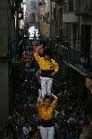 Bateig dels Castellers de Solsona Salutació castellera