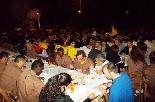 Bateig dels Castellers de Solsona Imatge del sopar popular de castellers