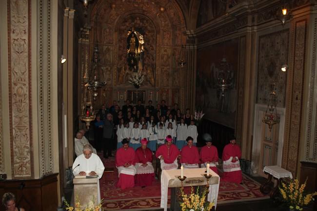 Homenatge a la Mare de Déu del Claustre 2013