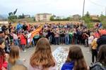 Manifestació a la Guàrdia Civil de Solsona