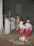 Vetlla Pasqual a càrrec del Bisbe Novell, 2011
