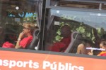 Sortida de Solsona dels autocars a la V 2014
