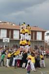 Actuació castellera 50 anys FP Castellvell