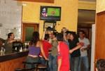Celebració de l'Eurocopa 2012 L'alegria era màxima al local