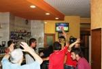 Celebració de l'Eurocopa 2012 Ja es veia el final del partit