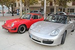 Trobada de Porsches a Solsona
