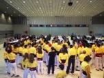 Dinar Solidari amb la Marató de TV3 a la Sala Polivalent