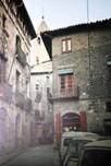 Tradema, fa 40 anys Carrer Castell de Solsona, any 1972