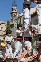 Diada castellera a Manlleu
