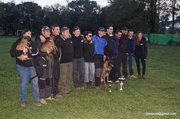 Copa d'Espanya d'ensinistrament de gossos a Calldetenes