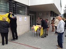 9-N a Osona Les Masies de Voltregà. Foto: Joan Turró