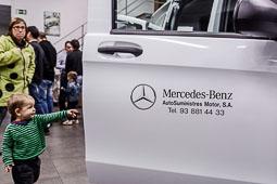 Presentació de la nova Mercedes Vito a Vic