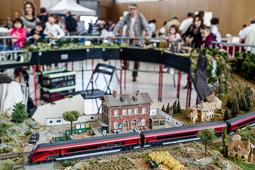 Festa del Tren de Santa Eugènia de Berga, 2015
