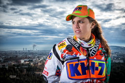 Laia Sanz al Dakar 2015