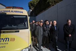 Inauguració del nou CAP de Prats de Lluçanès