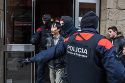 Operació policial a Vic contra una xarxa d'explotació laboral