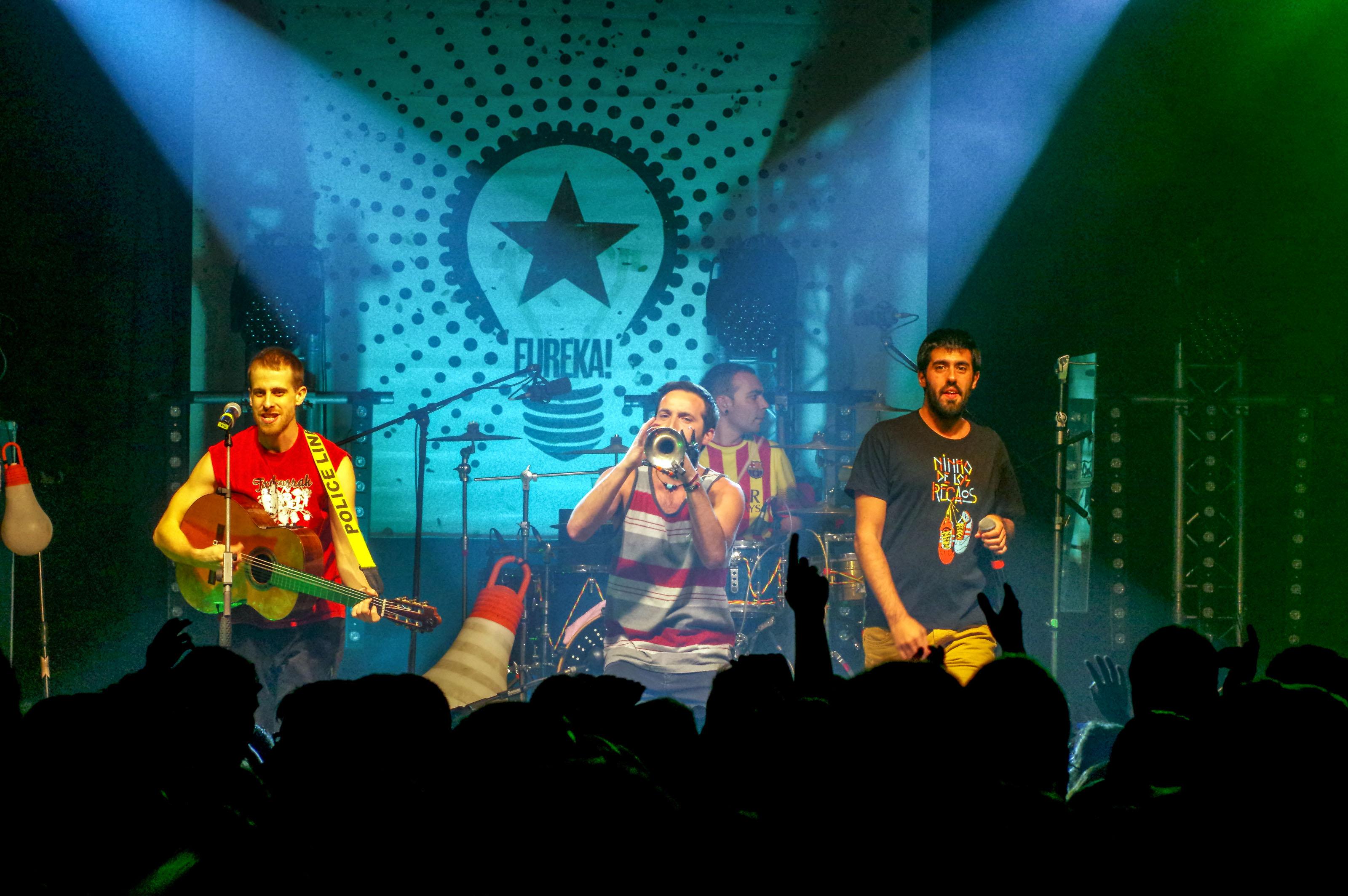 Concert de Tumbaos i La Pegatina a Prats de Lluçanès