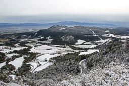 Nevada del 4 de febrer a Sant Bartomeu del Grau