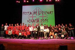 Festa de l'Esport Vigatà 2015