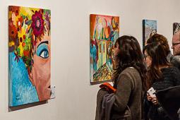 Inauguració de la 9a edició de Parelles Artístiques a Vic
