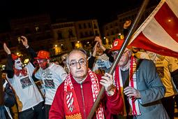 El Club Patí Vic celebra la victòria a la Copa del Rei d'hoquei
