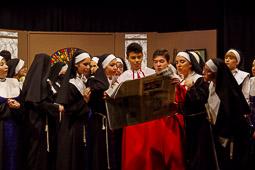 El musical «Sister Act» de l'Institut Castell del Quer a Sant Boi de Lluçanès