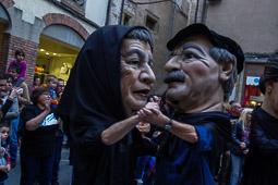 Mercat del Ram de Vic 2015: gercavila de gegants