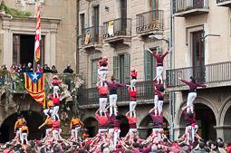 Mercat del Ram 2015: trobada castellera