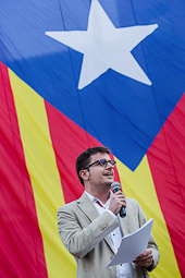 Aplec independentista a Vic