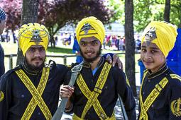 La comunitat Sikh celebra la festa del Baisakhi a Vic