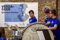 Concert Banda EMVIC a la Festa Verdaguer de Folgueroles