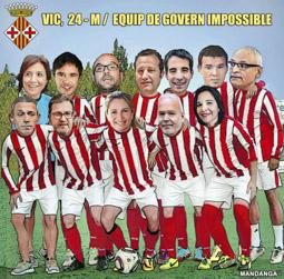 Municipals 2015: els candidats de Vic, segons en Mandanga