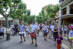 Trobada de gegants de Prats de Lluçanès, 2015