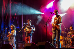 Festa Major de Vic 2015: concert de La Troba Kung-Fú