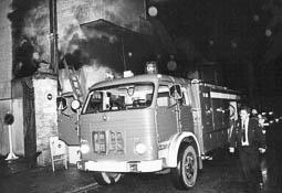 Estimats bombers (1978-94) Vehicle BUP (Bomba Urbana Pesant) 125. Foto: Arxiu La Marxa