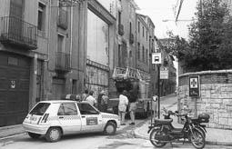 Estimats bombers (1978-94) Carrer Manlleu, de Vic (1990-1991). Foto: Arxiu La Marxa
