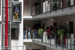 Inauguració de la residència universitària de Vic