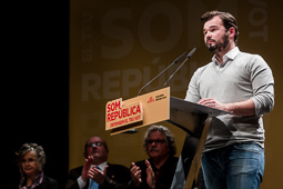 Eleccions 20-D: Acte d'ERC a Vic