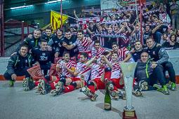 Final Copa Intercontinental Hoquei, CP Vic 5 - Club Atlético Huracán 1